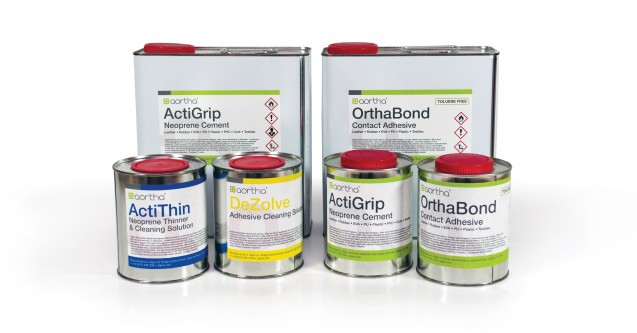 aortha adhesives range